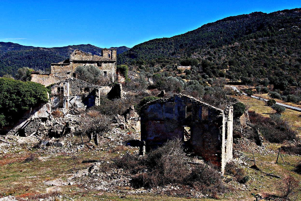 El pueblo abandonado de Lapenilla
