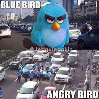 Gojek Vs Taxi Blue Bird Mulai Bersitegang H+2