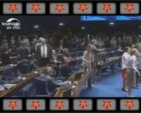 Senadoras e senadores cacarejam igual galinhas contra o impeachment