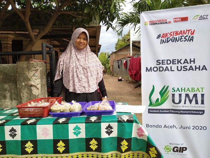 Kisah Perjuangan Para Ibu Aceh Hidupkan Ekonomi Keluarga di Tengah Pandemi Covid-19