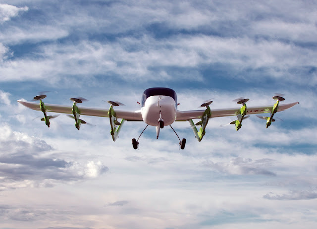 10 Largest Quadcopters that can Carry Passengers and Serve as Electric Aircraft