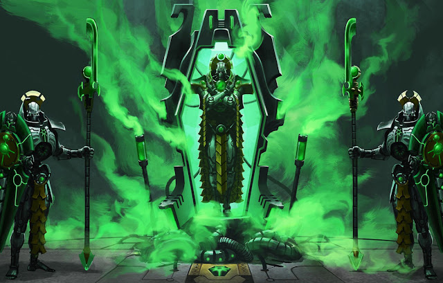 9th Edition 40k Necron Rumors- The Silent King, Reanimation ...