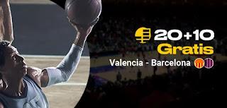 bwin promocion euroliga Valencia vs Barcelona 5 febrero 2020