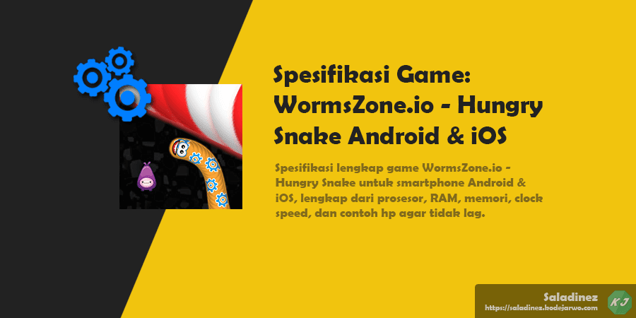 Spesifikasi Game: WormsZone.io - Hungry Snake Android & iOS