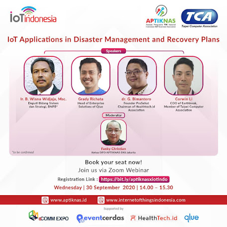 IOT APPLICATION IN DISASTER MANAGEMENT AND RECOVERY PLANS - 30 SEP 2020