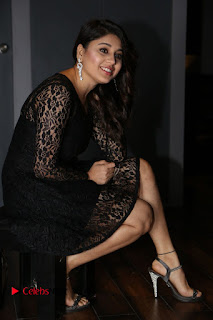 Actress Hamida Leatest Pictures in Black Lace Dress  0169.JPG