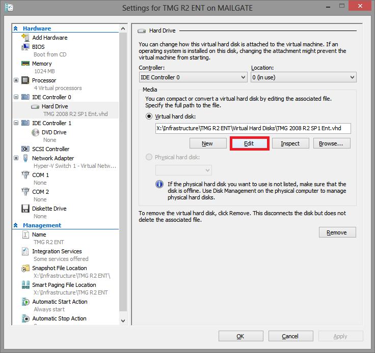 EXBlog: How to Convert Hyper-V VHD Disks to VHDX