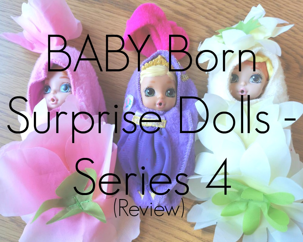 BABY Born Surprise Dolls Series 4 - Review