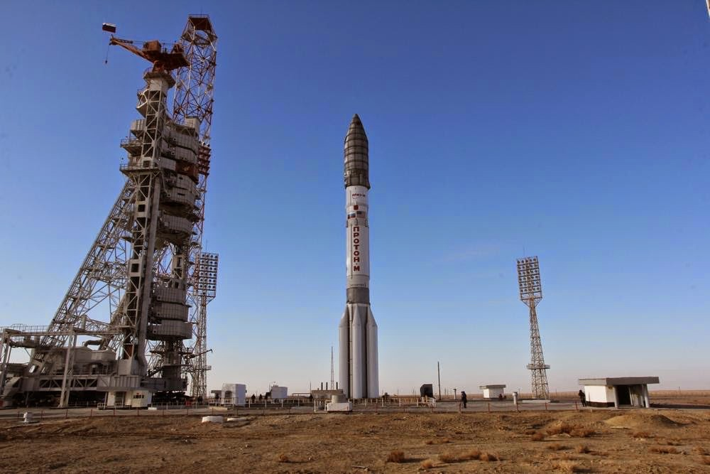 Proton-M rocket space.filminspector.com