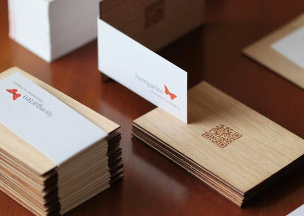 Woodworking Business Card Designs