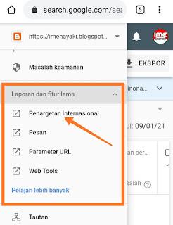 Cara setting blog ke luar