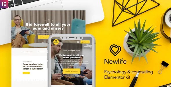 Best Psychology & Counseling Elementor Template Kit
