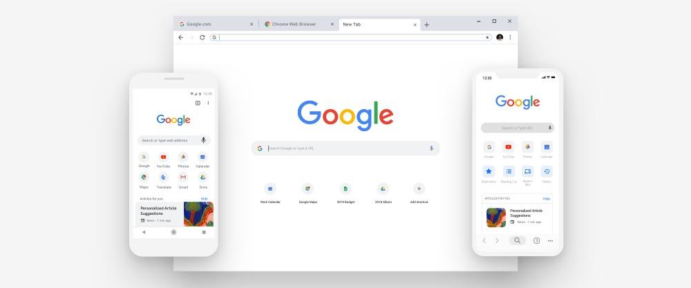 جوجل كروم 69 متوفر الآن : تصميم جديد، تحسين مدير كلمات المرور والمزيد
