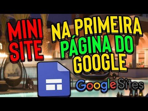 mini site google grátis Ganhe Muito Dinheiro 【Passo A Passo】