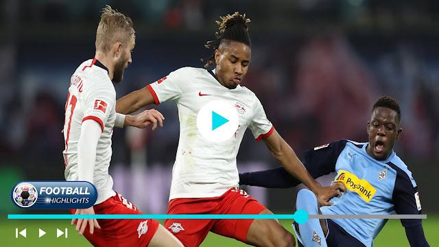 RB Leipzig vs Borussia M'gladbach – Highlights