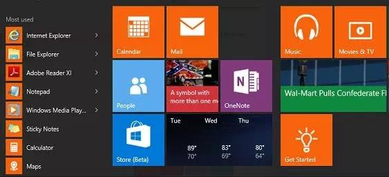 Cara Mengubah Warna Start Menu Windows 10-2