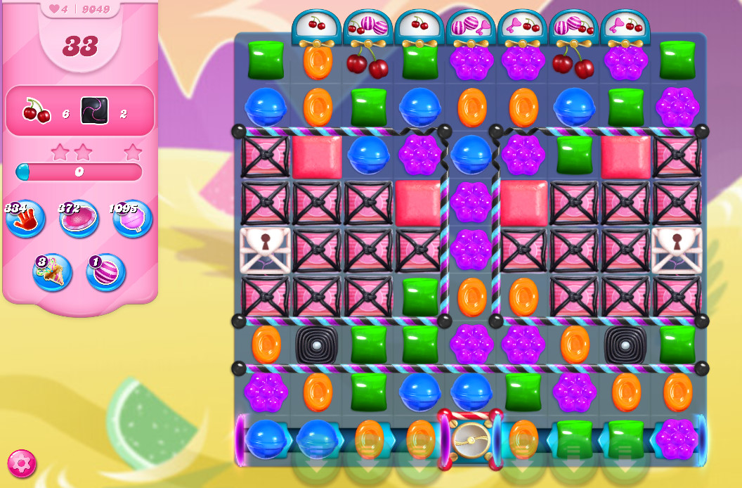 Candy Crush Saga level 9049