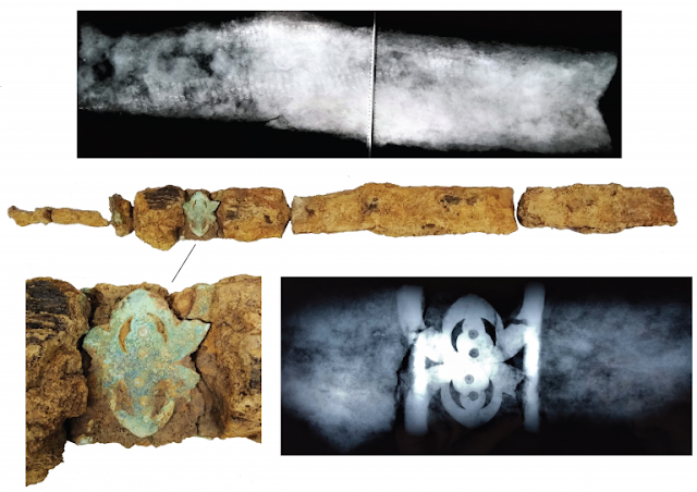 Iron Age 'warrior' burial with sword and spear discovered in West Sussex