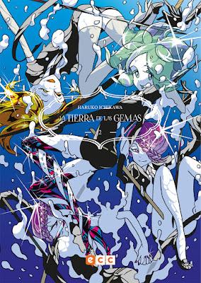Manga: Review de La Tierra de las Gemas Vol. 2 de Haruko Ichikawa - ECC ediciones