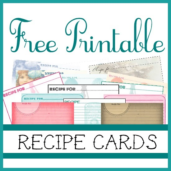 recipe printable cards card sweetly templates scrapped freebies template printables forms 4x6 type cute recipes later sweetlyscrappedart printing collect holiday