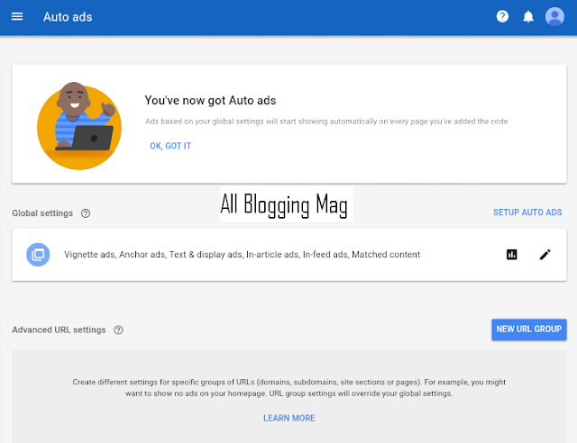 Introducing Google AdSense Auto Ads: How to Add Auto Ads to Blogger
