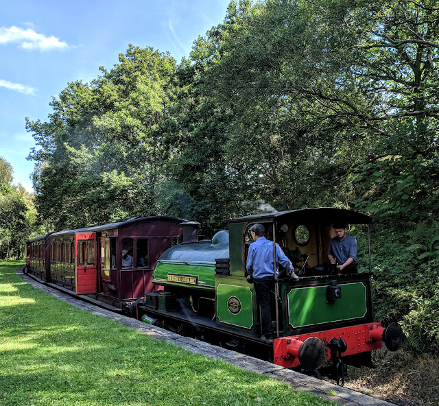 13 North East Days Out which are perfect to enjoy with Grandparents  - tanfield railway