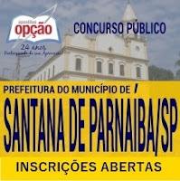 concurso Prefeitura Santana de Parnaíba 2018