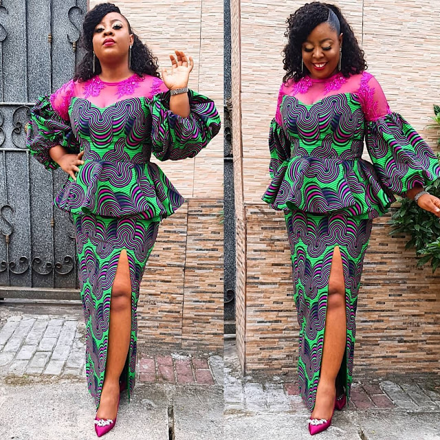 The 20 Best of Owambe Aso Ebi Dresses 45