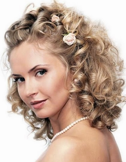 Wedding Hairstyles: Medium Length Wedding Hairstyles
