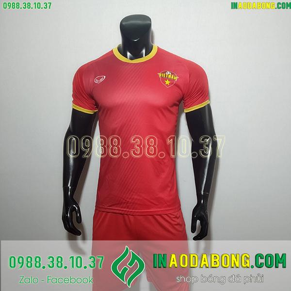 Áo bóng đá đội tuyển Việt Nam fifa 4 đỏ