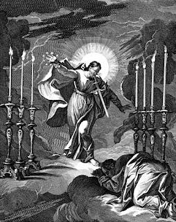 Seven lampstands - clipart.christiansunite.com