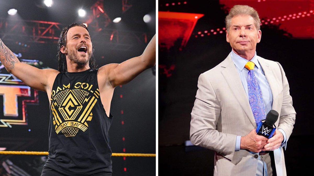 Adam Cole comenta sobre como foi sua grande reunião com Vince McMahon na WWE