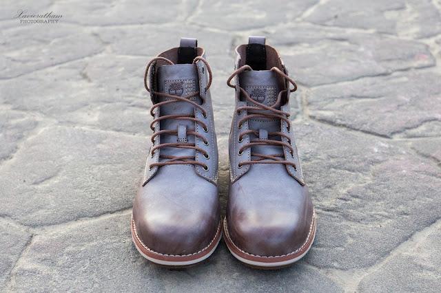 「敗家之路」Timberland 深褐色復古摔紋高筒靴 - 2