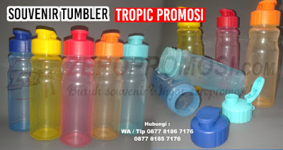 Tropic Tumbler - Grosir Souvenir Tumbler Promosi, Tropic, Tropic Hydration Water Bottle untuk souvenir, sports bottle, Tropic sports bottle, chielo bottle, botol minum, tumbler minum, plastic sports bottle