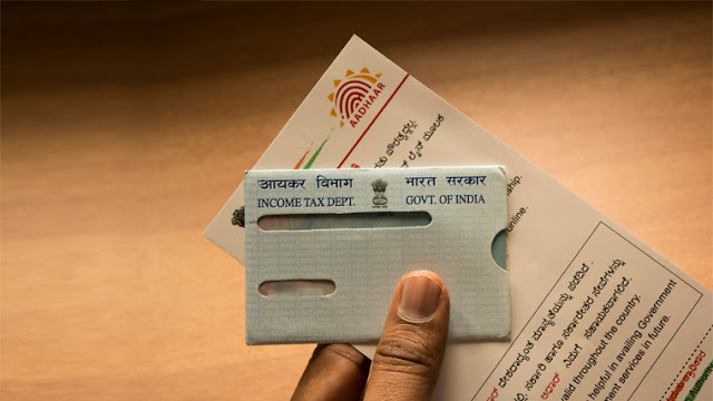 Link the Pan Card to the Offline Aadhaar Card: