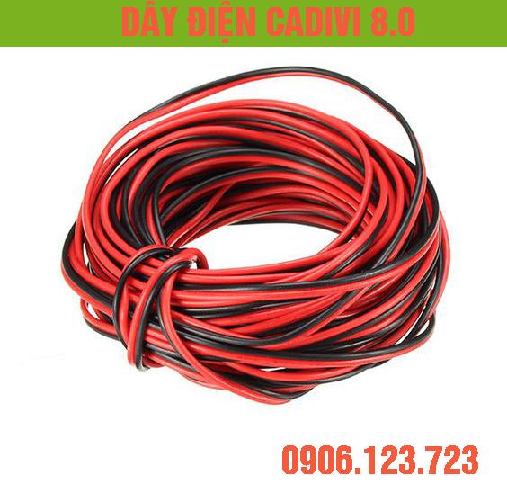 Bảng giá dây điện cadivi 8.0 giá bao nhiêu