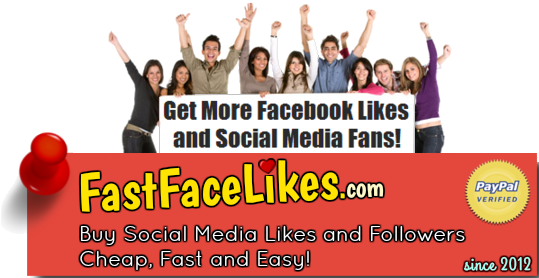 FastFaceLikes - Social Media Marketing Services since 2012