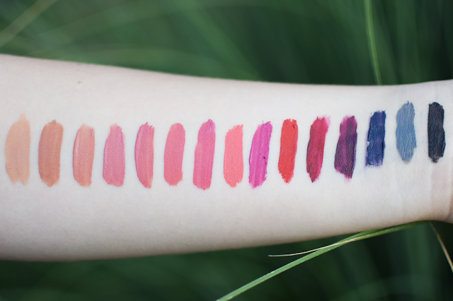Rimmel Stay Matte Liquid Lip Colour Swatches