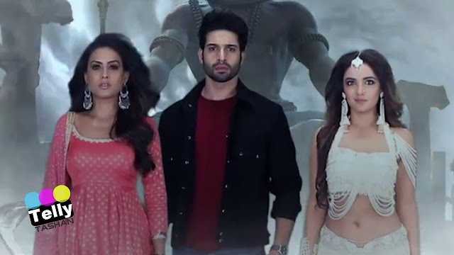 High Voltage Drama : Dev's dashing hero like entry to save Brinda from Nayantara's deadly trap in Naagin 4
