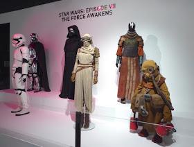 Original Star Wars Force Awakens costumes