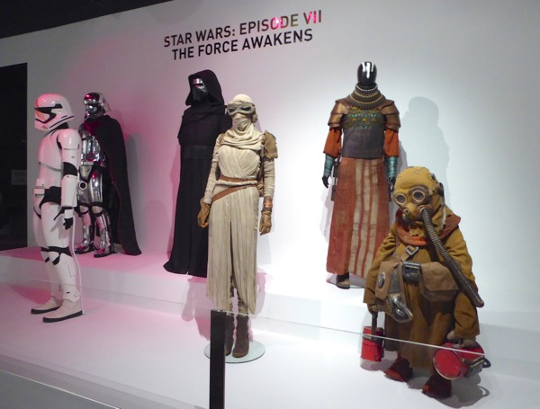 Original Star Wars Force Awakens costumes
