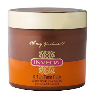 Inveda D Tan Face Pack