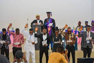 FUTA Inaugurates New Student Union Leaders 2020/2021