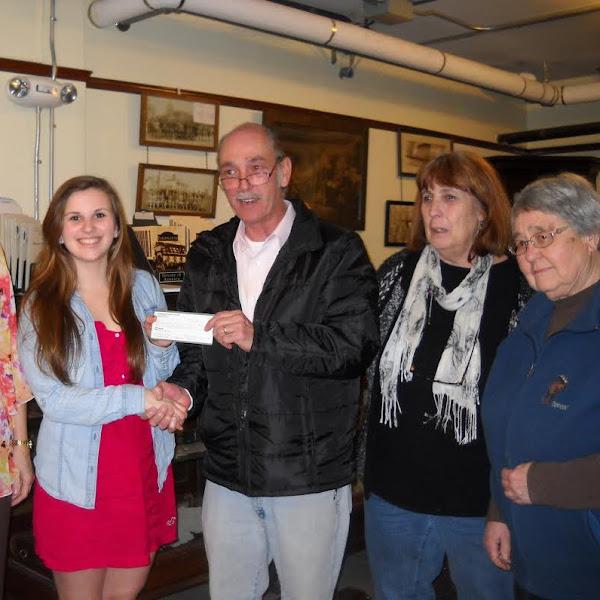 Lindsay Buote Recipient of Farmington Historical Society Scholarship