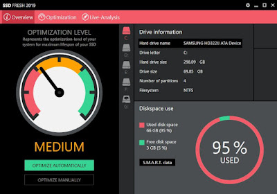 Abelssoft SSD Fresh 2019 8.0.43 Preactivated