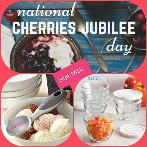 National Cherries Jubilee Day Wishes Beautiful Image