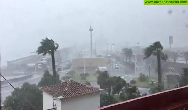 Vuelve el viento a La Palma