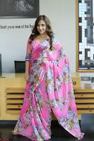 Angela Krislinzki Rogue Movie Fame Telugu Actress in Saree Backless Choli 093.JPG