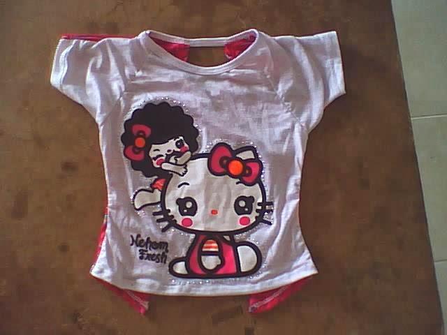 moda de blusas con mangas corte ranglan para niñas