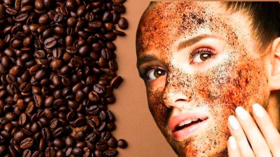 القهوة لتبيض الوجه